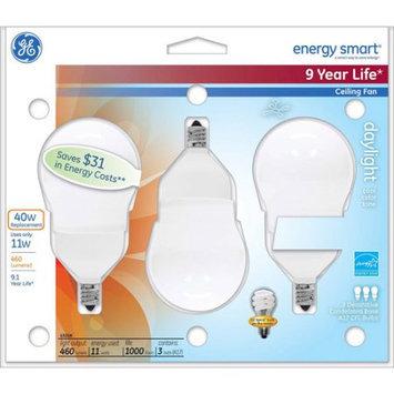 General Electric GE energy smartA CFL 11 watt A17 3-pack