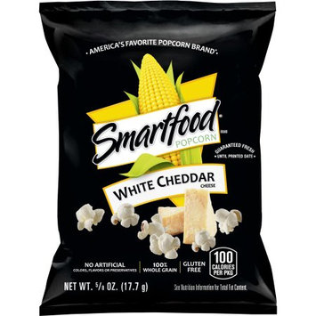 Frito Lay Smartfood White Cheddar Flavored Popcorn, .625 Ounce (40 Count)