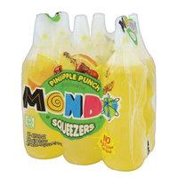 Jel Sert MONDO Fruit Squeezers, Pineapple Punch, 6.75 Fl Oz, 6 Ct
