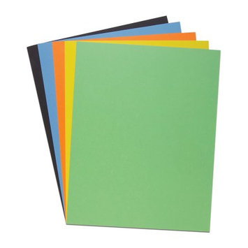 Roaring Spring Paper Products 48152 Assorted Posterboard - 25 Sheets Per Carton