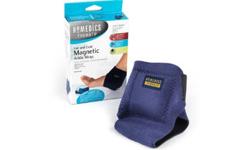 Yphone Hot and Cold Power Magnet Ankle Therapy Wrap Brace Support (Pack of 3)