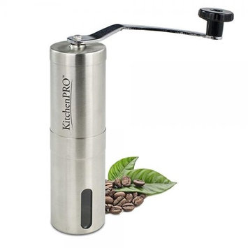 Kitchen Pro KitchenPRO Portable Premium Stainless Steel Manual Conical Burr Portable Coffee Grinder, Aeropress C