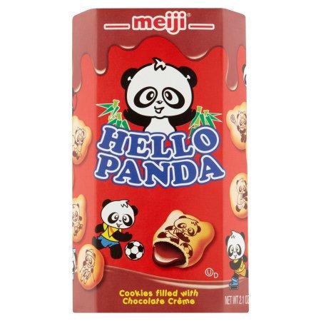 MEIJI Panda Chocolate Filling Cookie 57g