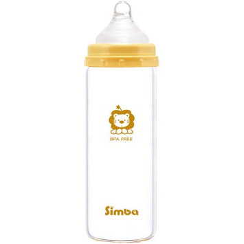 Mqbix Acoustics Technology Simba P6908 Light Glass Bottle, Beige, 9 oz