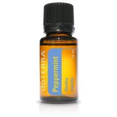 doTERRA Peppermint Essential Oil - Promotes Clear Breathing, Healthy Respiratory Function, and Digestive Health; For Diffusion, Internal, or Topical Use - 15 ml
