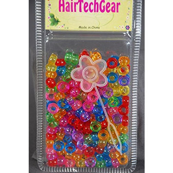 Hair Beads Acrylic Round Beads for Braids and Twists