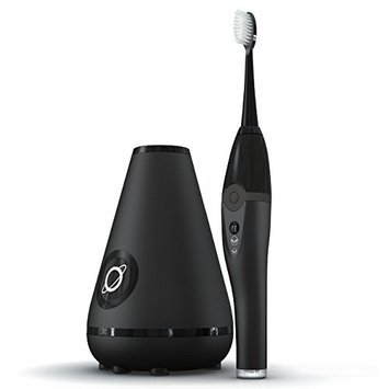 TAO Clean Sonic Electric Toothbrush & Cleaning Station, Deep Space Black [Deep Space Black]