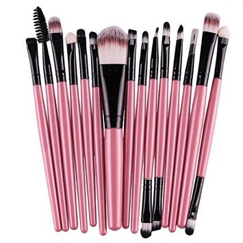 Professional Makeup Brush Set Makeup Brushes for Facial Brow and Lip by TOPUNDER S