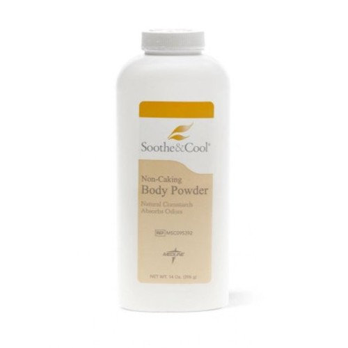 MSC095392 - Soothe Cool Cornstarch Body Powder by Medline