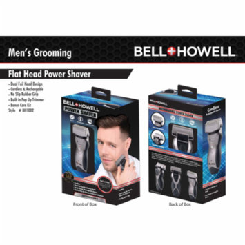 Bell + Howell Foil Power Shaver Cordless & Rechargeable