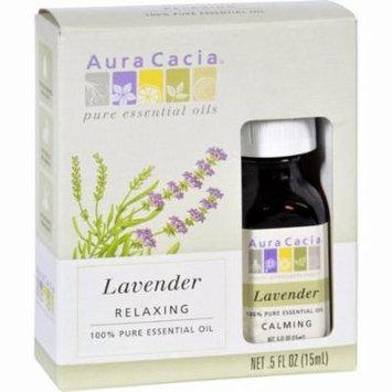 Aura Cacia Essential Oil Lavender - 0.5 Fl Oz - Pack of 3