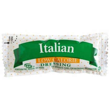 200 PACKS : Portion Pack Low Calorie Italian Dressing, 0.42-Ounce Single Serve Packages