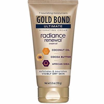 2 Pack - Gold Bond Ultimate Radiance Renewal Cream Oil 5.5 oz