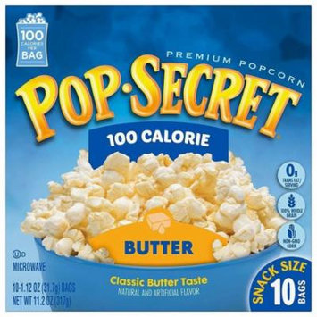 Pop Secret 100 Calorie Butter Popcorn, 11.2 Ounce (Pack of 2)
