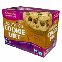 Hollywood Cookie Diet - 8 Boxes - Chocolate Chip!