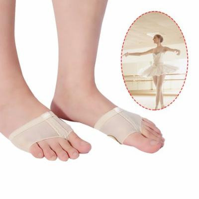 1 Pairs Women's Ballet Belly Dance Half Sole Paws Pad Foot Thongs Toe Undies(Skin Color/S)
