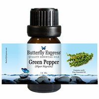 Green Pepper Essential Oil 10ml - 100% Pure - by Butterfly Express