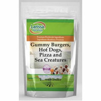 Gummy Burgers, Hot Dogs, Pizza and Sea Creatures (4 oz, ZIN: 525143)