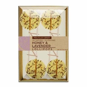 Honey & Lavender Gourmet Lollipops 4 Count Gift Box 3 Pack