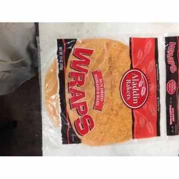 Aladdin Bakers Sun Dried Tomato & Basil Wraps Parve 10 oz.