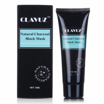 CLAVUZ Blackhead Remover Black Mask, High Quality Charcoal Purifying Peel Off Deep Cleansing Face Mask