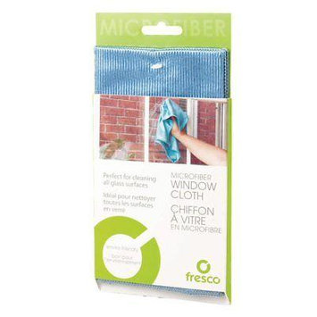 Fresco Microfiber Window & Glass Cleaning Cloth - 12