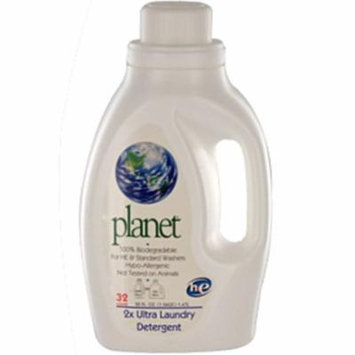 Planet Laundry Detergent - 2X Ultra - Case of 4 - 50 fl oz.