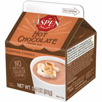 Aspen Mulling Hot Chocolate, S'mores, 4-pack