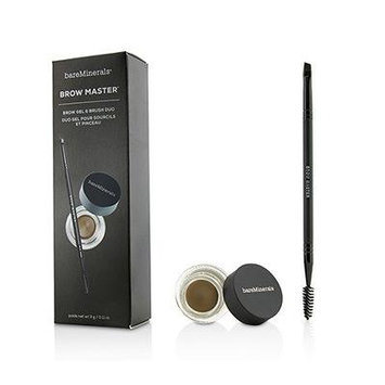 Brow Master Duo (Brow Gel and Brush) - Universal Taupe 0.11oz
