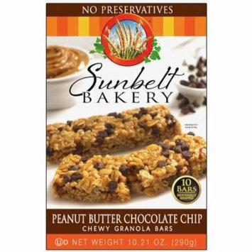 Sunbelt Bakery Peanut Butter Chocolate Chip Granola Bars (2-Boxes)