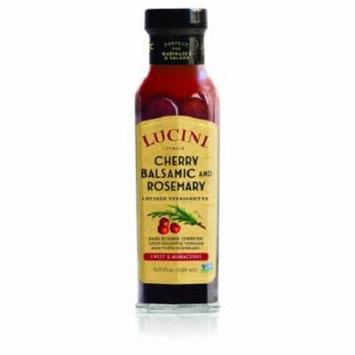 Lucini Italia Cherry Balsamic and Rosemary Vinaigrette Case of 6 8.5 Fl oz.