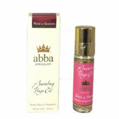 Abba Products 170835 0.33 oz Anointing Oil, Roll On - Rose of Sharon