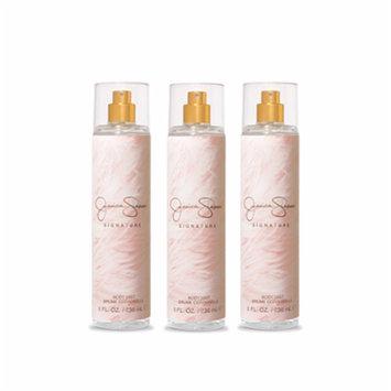 Signature Jessica Simpson Body Spray For Women 8.0 oz (PACK OF 3)