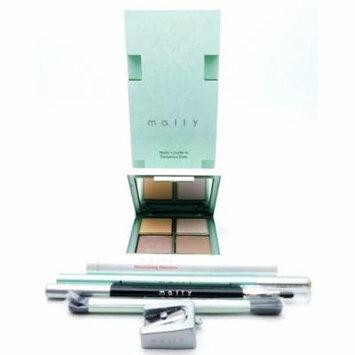 Mally Guide to Gorgeous Eyes: Sharpener, Eyeshadow Brush, Eyeshadow Palette .27 Oz., Lightwand pencil .007 Oz./powder .014 Oz., Volumizing Mascara .39 Fl Oz., Starlight Eyeliner .04 Oz.
