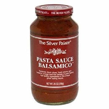 Silver Palate Pasta Sauce Roasted Garlic Case of 6 25 oz.