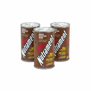 NUTRAMENT Energy Nutrition Drink Chocolate, 12 oz, 12 Count