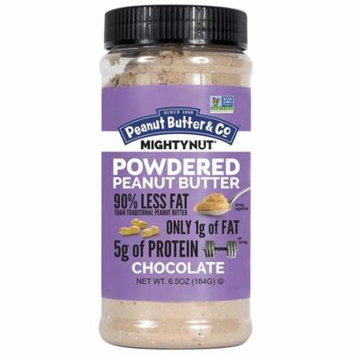 Peanut Butter and Co Mighty Nut Powdered Chocolate Case of 6 6.5 oz.