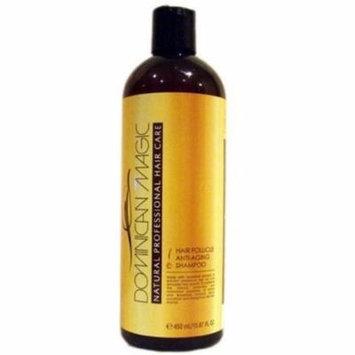 4 Pack - Dominican Magic Hair Follicle Anti-Aging Shampoo, 15.87 oz