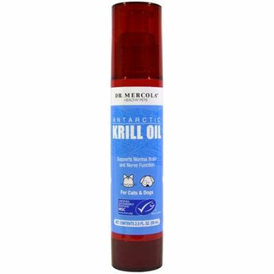 Dr. Mercola, Antarctic Krill Oil, For Cats & Dogs, 2.0 fl oz(pack of 1)