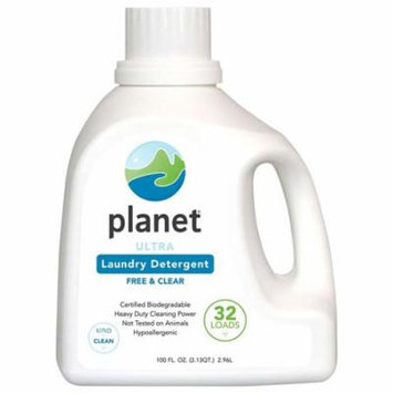 Planet Ultra Powdered Laundry Detergent Case of 4 100 Fl oz.