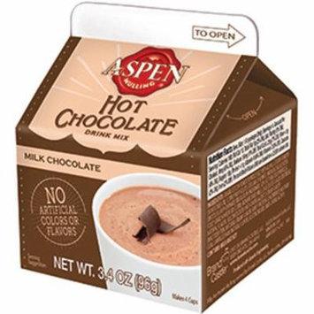Aspen Mulling Hot Chocolate, Milk Chocolate, 4-Pack