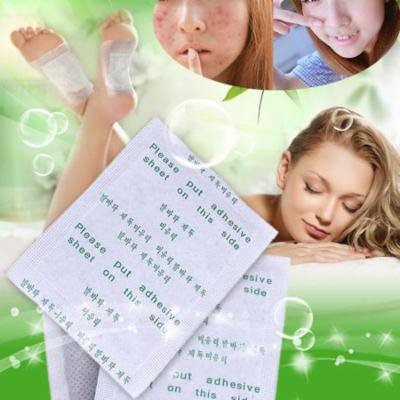 Ktaxon 200pcs about 3 Courses Detox Foot Pads Patch Detoxify Toxins + Adhesive Keeping Fit Health Care