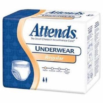Attends Unisex Regular Absorbency Value Tier Protective Underwear XLarge 58 68 14PK