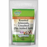Roasted Almonds, Unsalted (No Added Salt) (16 oz, ZIN: 524561) - 3-Pack