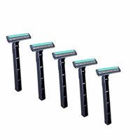Discount Shaving Club - Men's Lubricated Twin Blade Disposable Razor Multi-Packs (5 Pack)