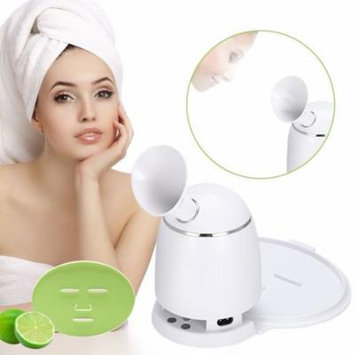 2in1 Ionic Facial Steamer And Fruit Mask Machine, Multi-function DIY Natural Fruit Vegetable Mask Maker, Hot Mist Moisturizing Personal Skin Care Beauty Tool (Machine with Collagen)