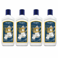 Wright's Silver Polish - Gently Clean and Remove Tarnish Without Scratching, 7 Fl. Oz. - 4 Pack