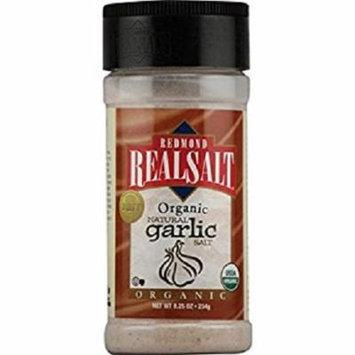 Real Salt Garlic Salt - Organic - Case of 6 - 4.75 oz.