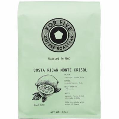 3 Pack - For Five Costa Rica Monte Crisol Ground 12 oz