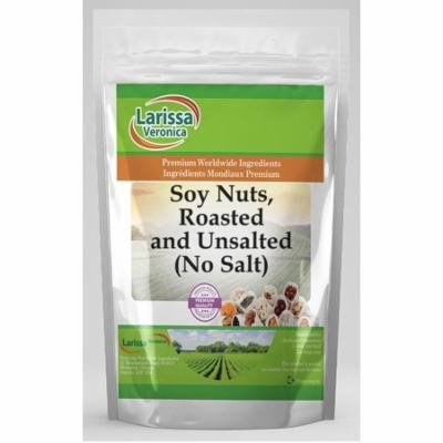 Soy Nuts, Roasted and Unsalted (No Salt) (8 oz, ZIN: 524721) - 3-Pack
